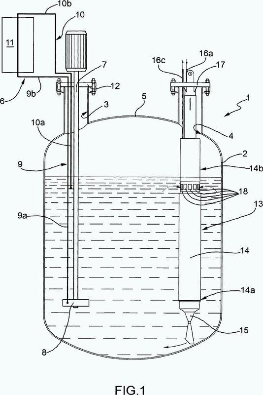 Depósito de almacenamiento de energía térmica con generador de vapor integrado.