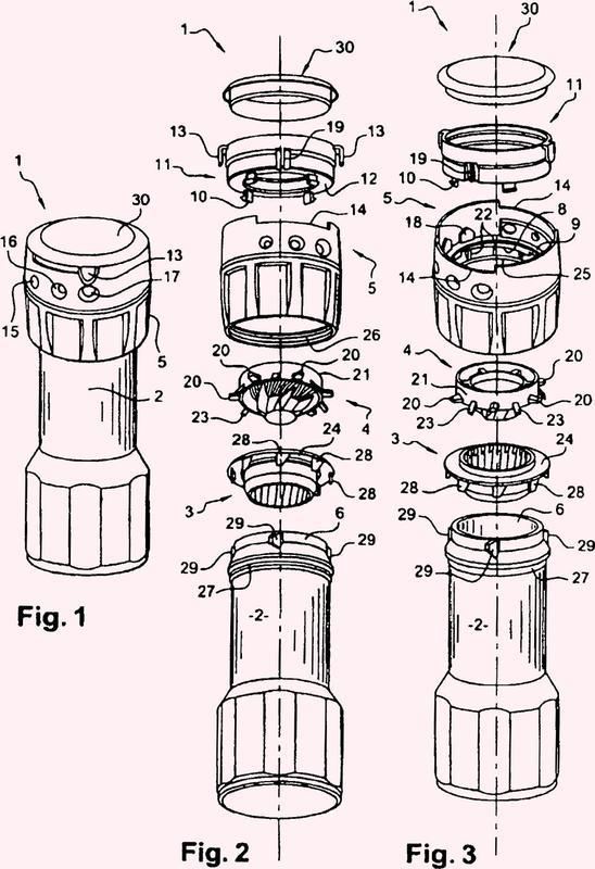 Moledora ajustable y estator para la moledora ajustable.