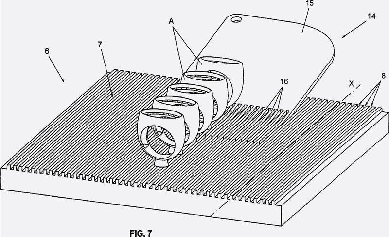 Método de estereolitografía y máquina de estereolitografía adecuada para implementar dicho método.