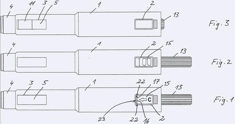 Dispositivo de administración con función de cebado.