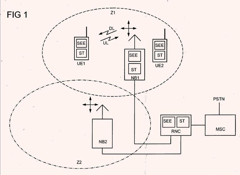 Procedimiento para transmitir datos en paquetes en un sistema de radiocomunicación.