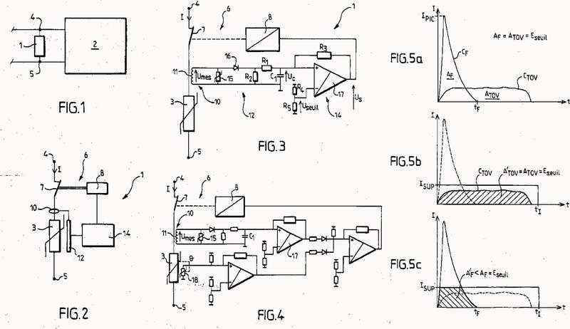 Dispositivo de protección contra las sobretensiones con capacidad mejorada de puesta en seguridad por desconexión y método correspondiente.