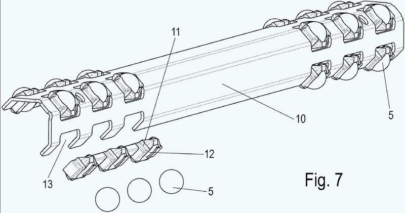 Guía de extracción para muebles y procedimiento para fabricación de una guía de extracción.
