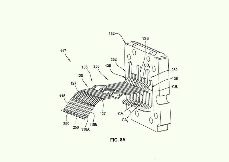 Conectores eléctricos con compensación de diafonía.