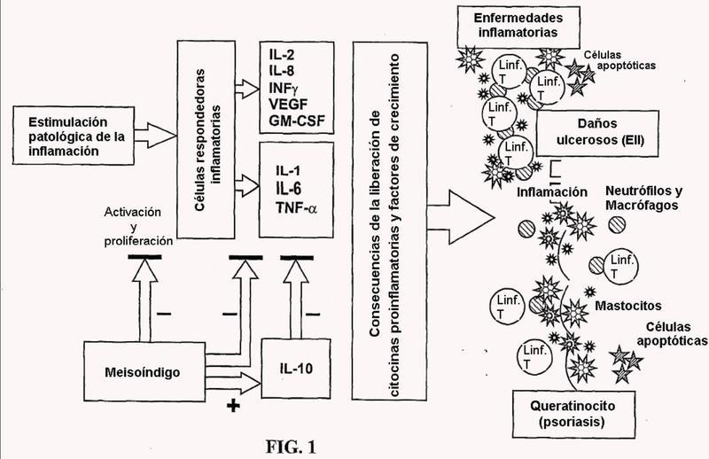 Procedimientos de tratamiento de una enfermedad de tipo inflamatorio.