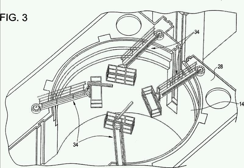 Plataforma de mantenimiento de reactor.