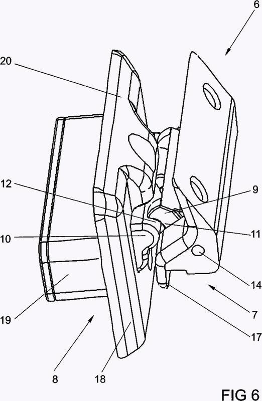 Bloqueo adicional para una hoja giratoria contra un marco.