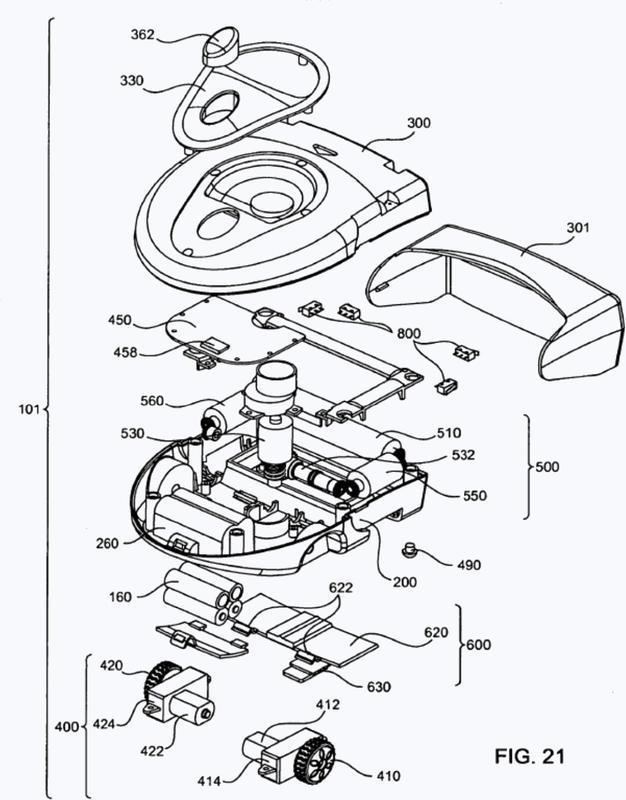 Robot autónomo de cubrimiento compacto.