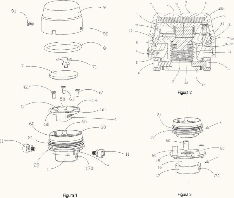 Dispositivo externo de detección de la presión de un neumático.