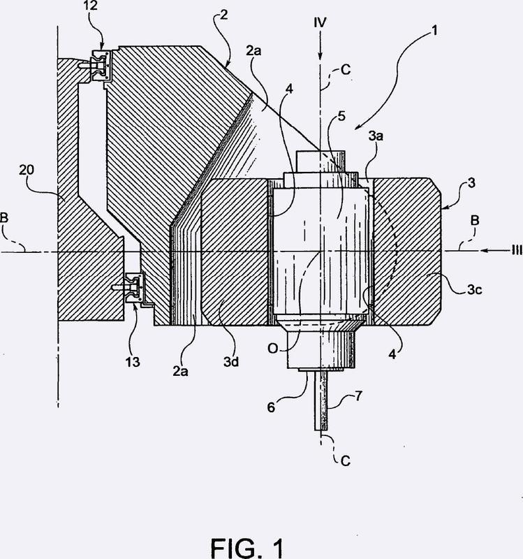 Cabezal portaherramientas para máquinas herramientas.