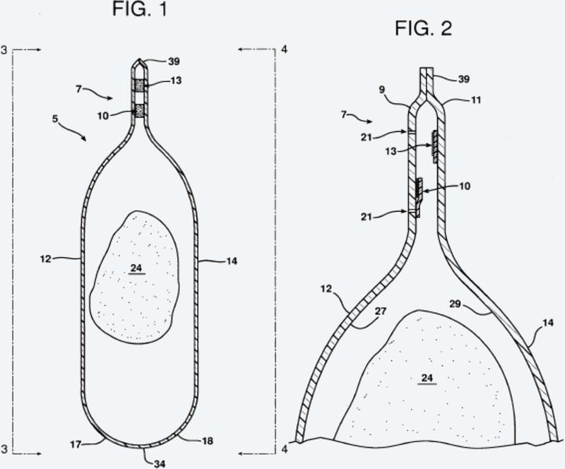 Paquete de fácil abertura y resellable con red troquelada y mecanismo de resellado.