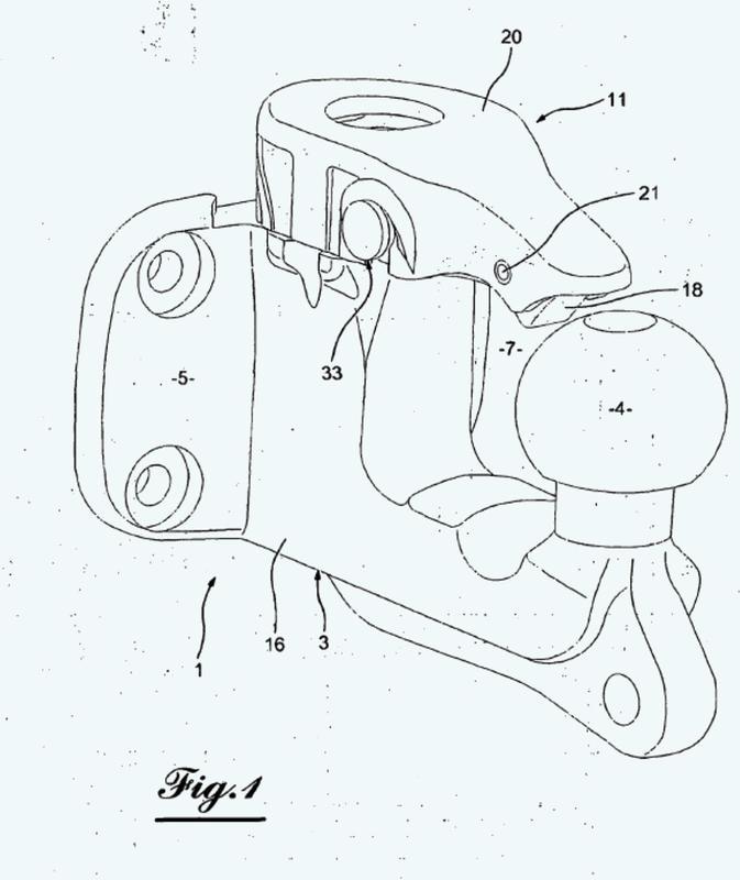 Disposición de enganche para vehículo tractor, que comprende un cuerpo de gancho de recepción de un elemento de enganche de un vehículo remolcado.