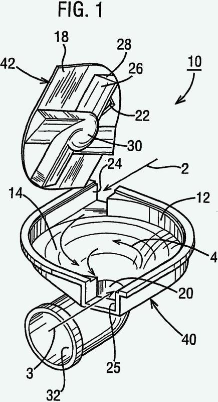 Desaglomerador para inhalador de polvo seco accionado por respiración.