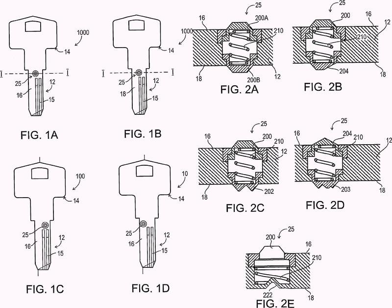 Pieza en bruto de llave, método de fabricación de una pieza en bruto de llave.