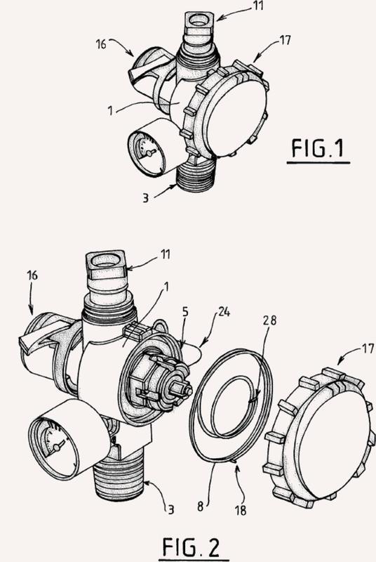 Una válvula de cilindro para cilindro de gas a presión y un cilindro de gas que comprende una válvula de ese tipo.