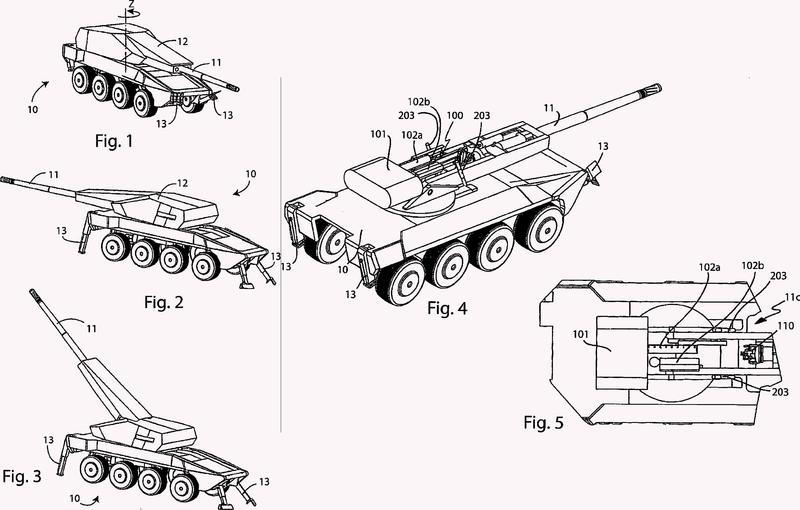 Sistema de carga de municiones de artillería.