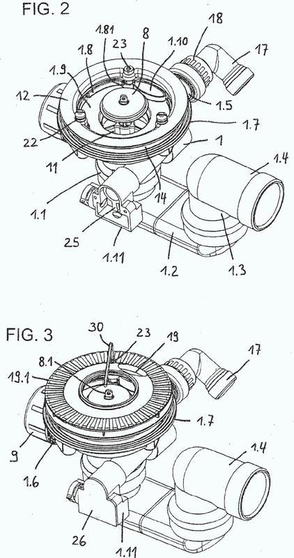 Valvulería de desagüe para bañeras o platos de ducha con alimentación en el fondo.