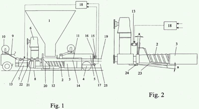 Método y aparato para fundir un producto de concreto.