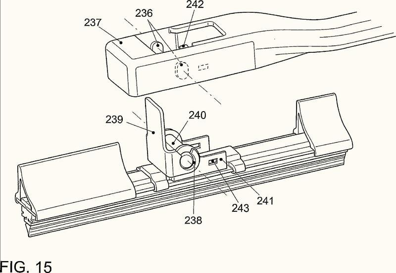 Dispositivo de conexión de una escobilla al brazo de una instalación limpiaparabrisas.