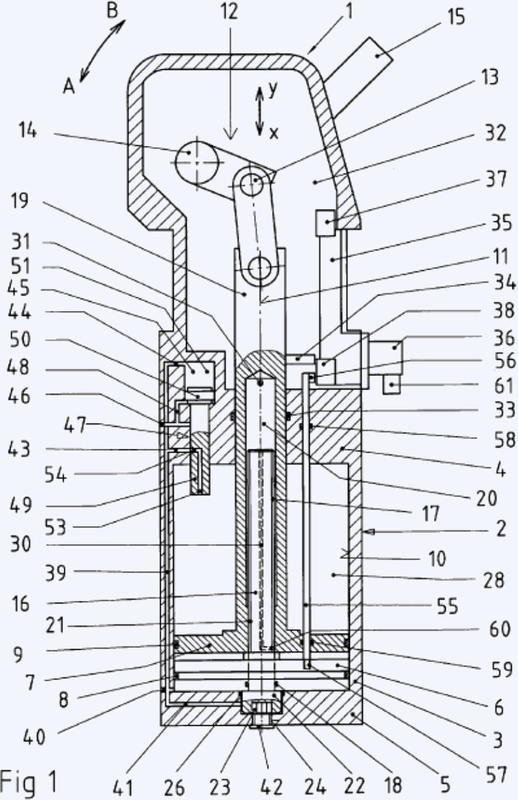 Dispositivo con funcionamiento de doble pistón, accionado por aire comprimido, para ser utilizado en la construcción de carrocería de la industria automotriz.
