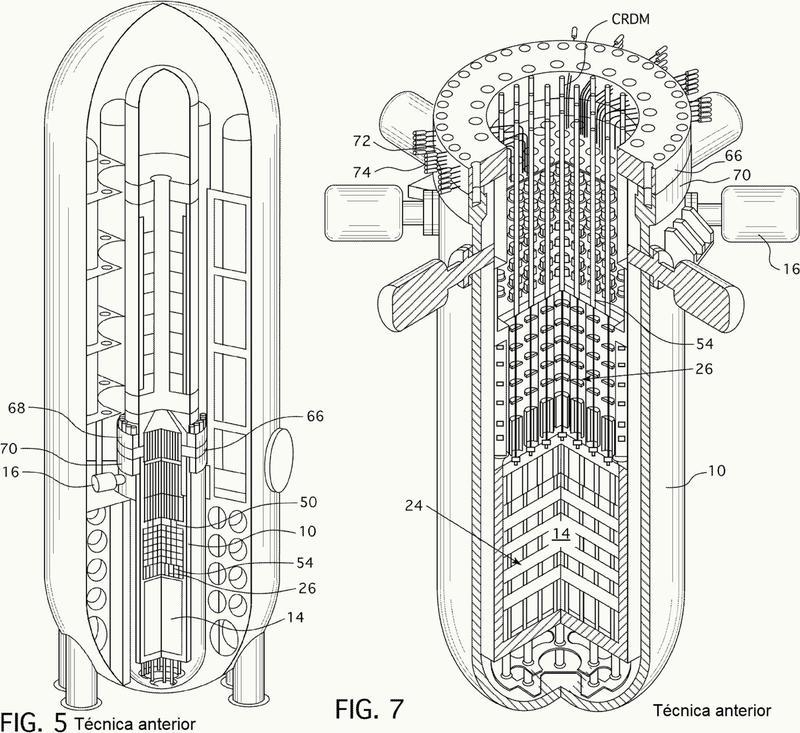 Un sistema de manipulación de instrumentos en el núcleo de un reactor.
