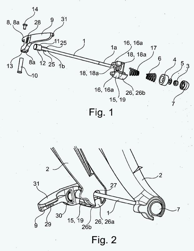 Sistema de fijación de un accesorio a una bicicleta.