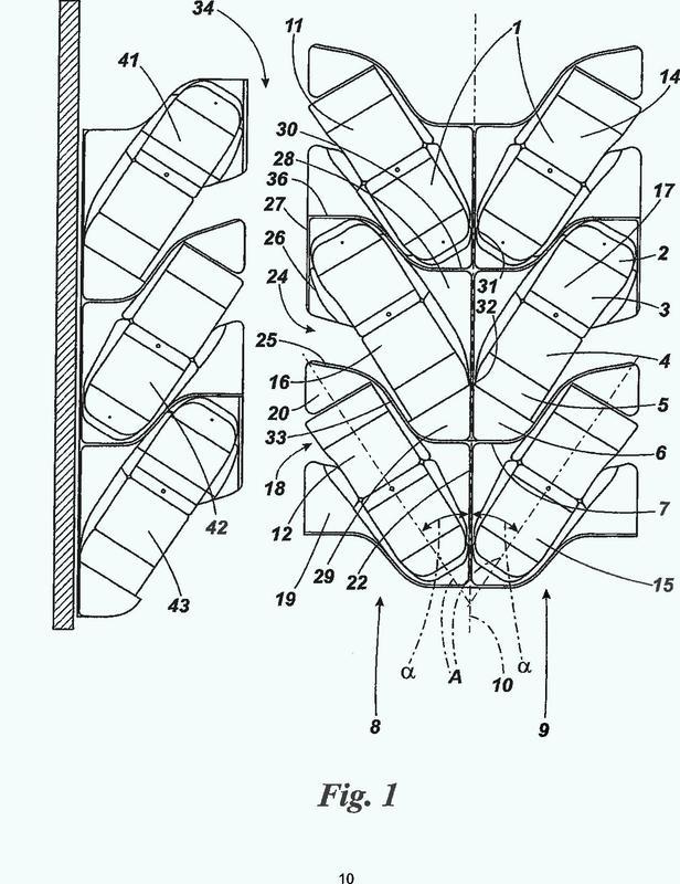 Matriz de asientos de avión.