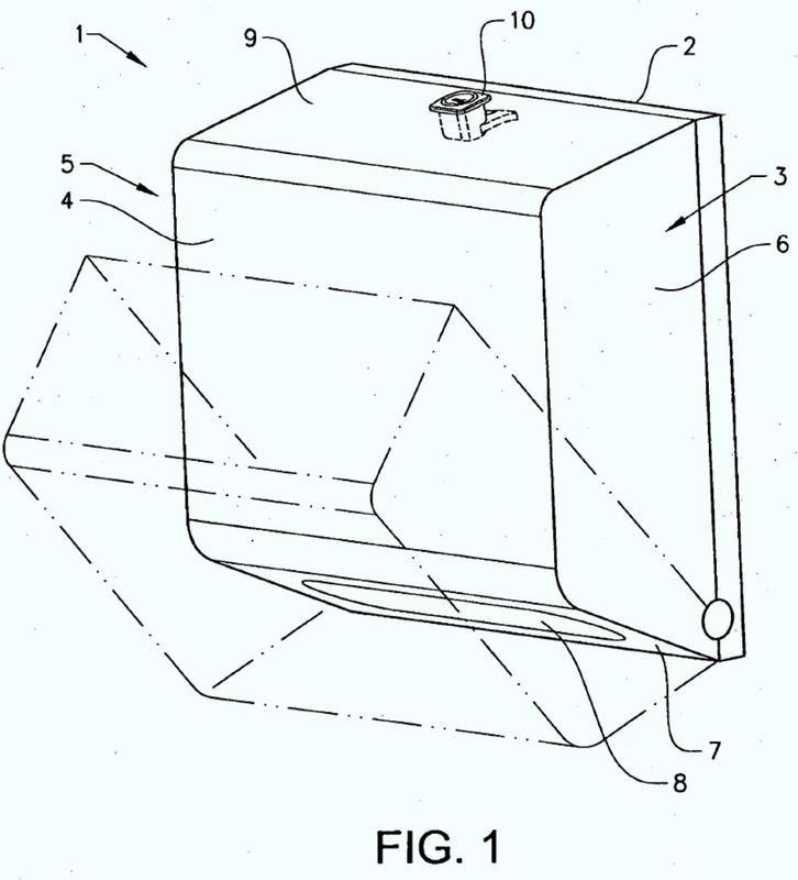 Disposición de contenedor bloqueable.