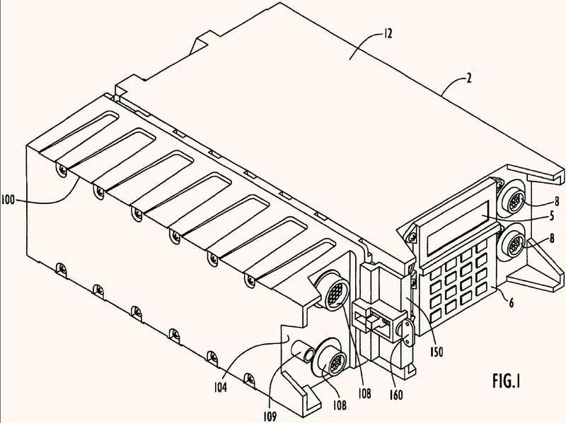 Conexión de un módulo de sistema a un dispositivo electrónico.