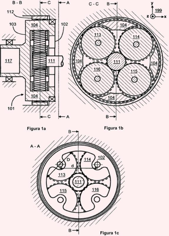 Un portador de ruedas planetarias para un engranaje planetario.