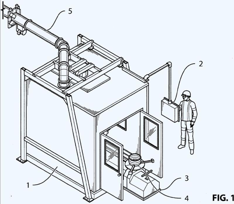 Sistema integrado de chorro de fluido para el decapado, preparación y recubrimiento de una pieza.