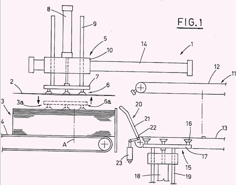 Un dispositivo para erigir piezas en bruto tubulares plegadas.