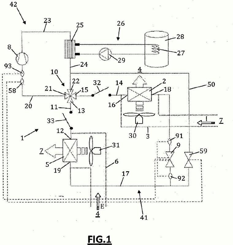 Instalación de ventilación mecánica controlada de tipo doble flujo termodinámico reversible con producción de agua caliente sanitaria.