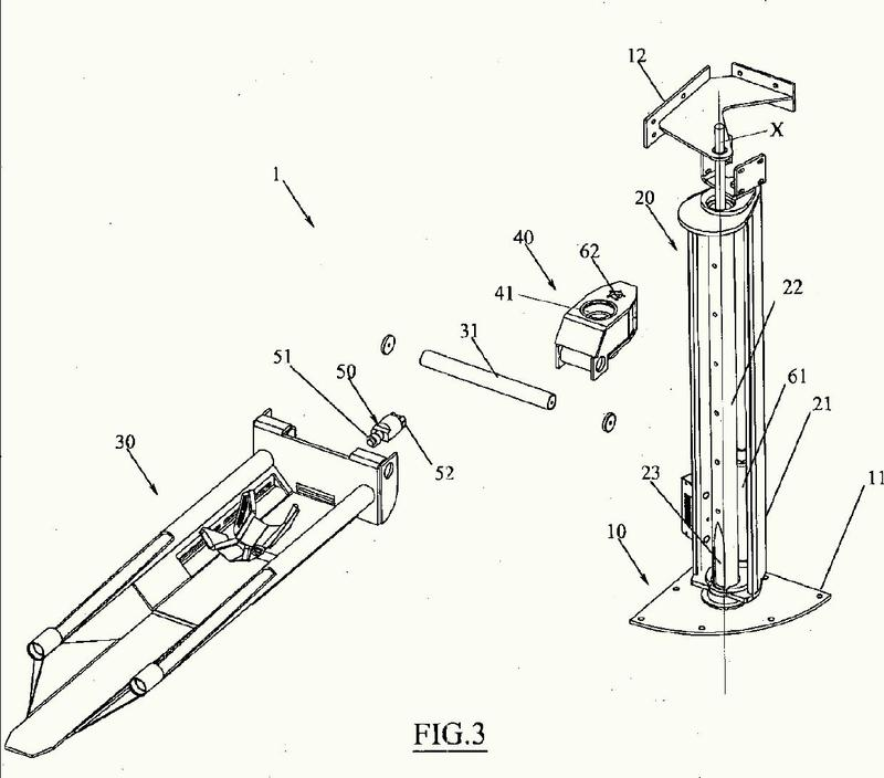 Dispositivo para la elevación de vehículos.