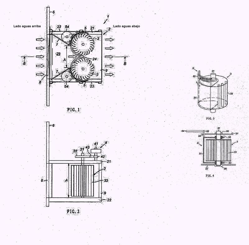 Dispositivo generador hidroeléctrico.
