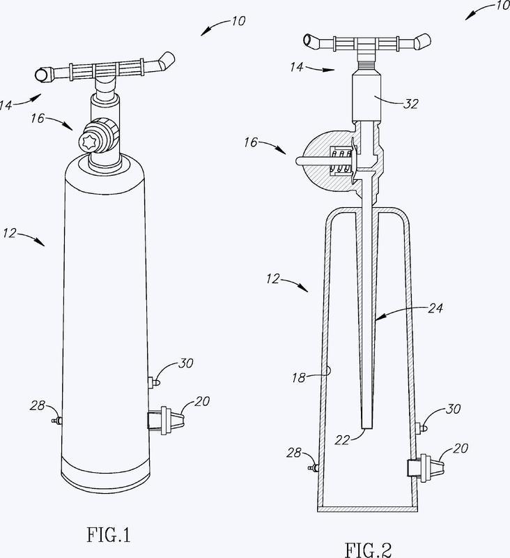 Dispositivo pulsante de agua para sistemas de riego.