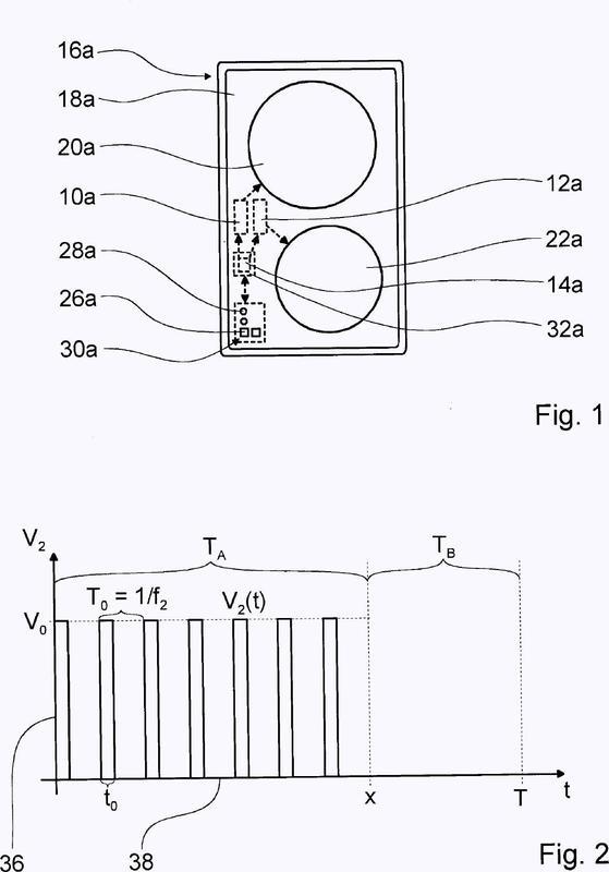 Dispositivo de aparatos de cocción.