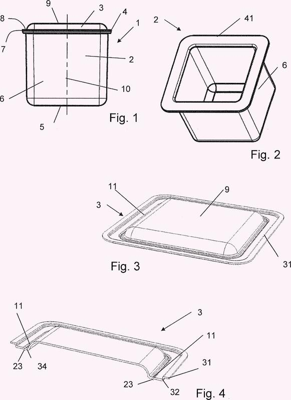Cápsulas de ración para la preparación de un producto escaldado y procedimiento para su fabricación.