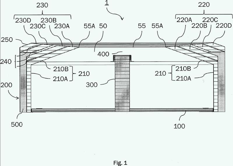 Estructura para blindar una antena contra radiointerferencia.