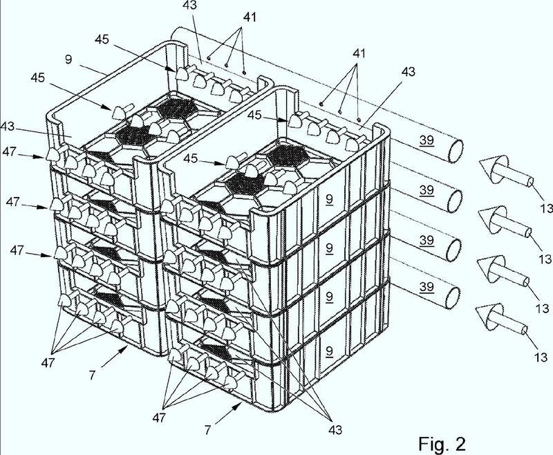 Método y sistema para cultivo de insectos que utiliza una pluralidad de cajas individuales.
