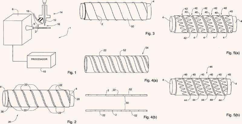 Sistema y método de fabricación de un estent.