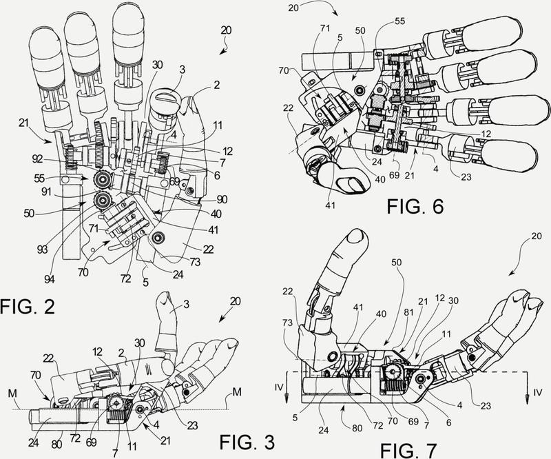 Prótesis de mano multifuncional y autónoma.