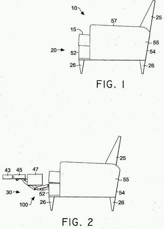 Unidad de asiento con un mecanismo de articulación.