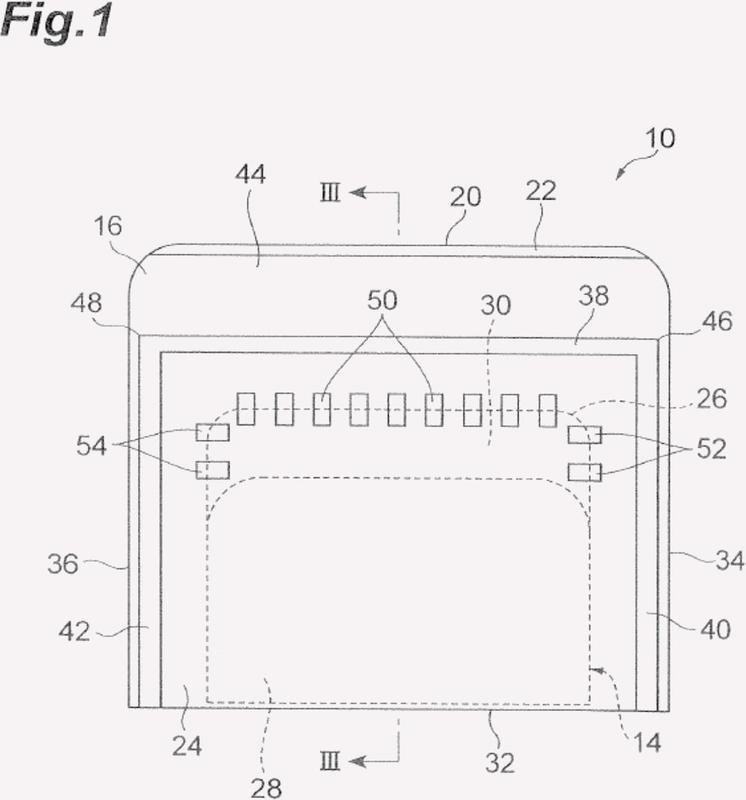 Envase de cinta adhesiva sensible a la presión.