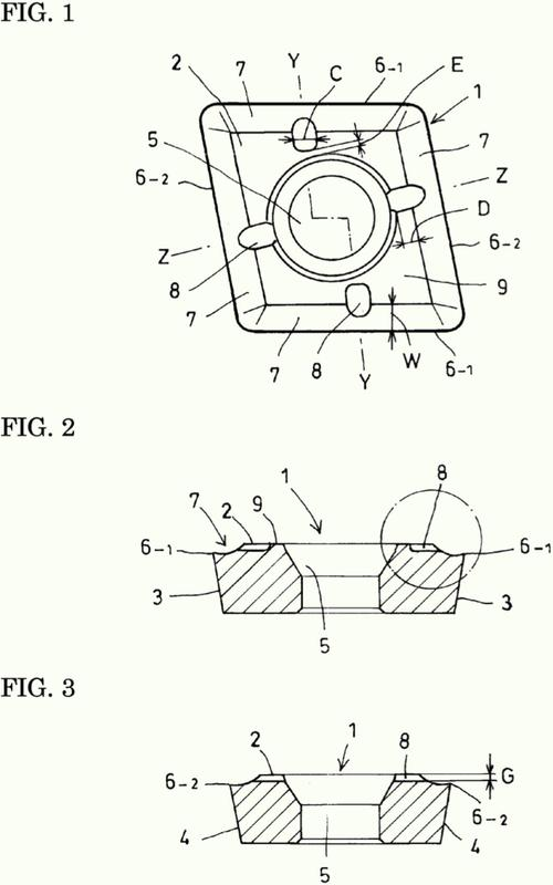 Inserto rotatorio y taladro que usa el mismo.