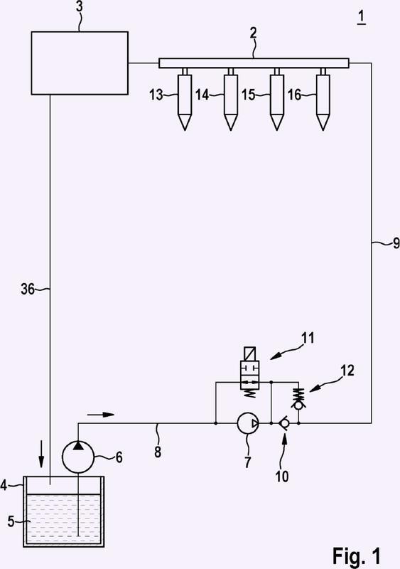 Sistema de inyección de combustible.