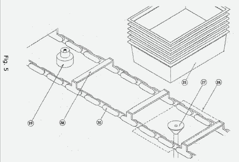 Un sistema de túneles de coagulación.