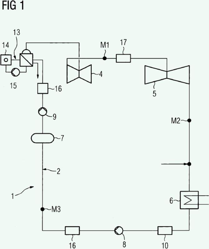 Procedimiento para la limpieza y el acondicionamiento del circuito de agua-vapor de una central, en particular de una central nuclear.