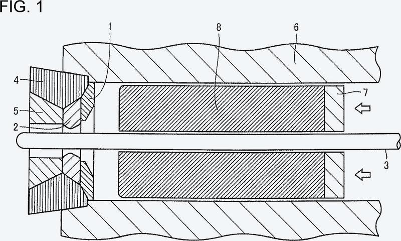 Procedimiento de producción de tubo sin soldaduras.