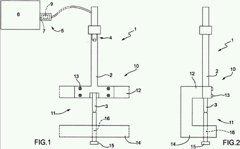 Método para compensar térmicamente un dispositivo de medición y estación de medición térmicamente compensada.